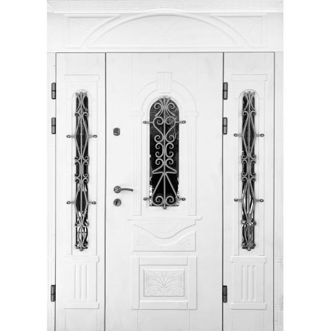 Двері вхідні в будинок №03002