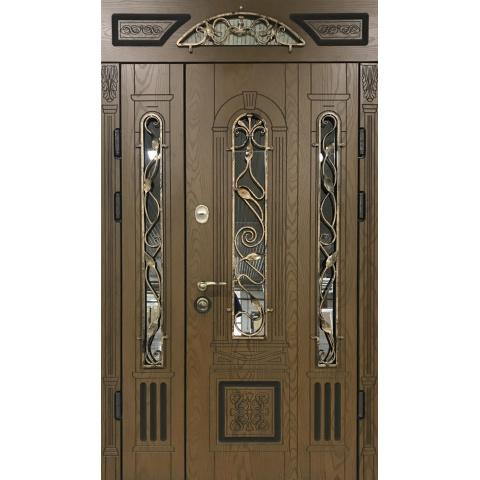 Двері вхідні з полімерними накладками №05000