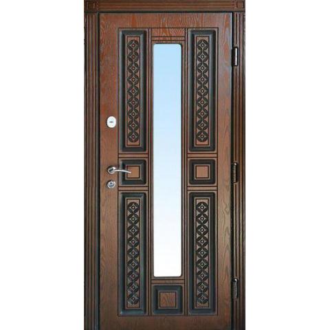 Двері вхідні з полімерними накладками №05010
