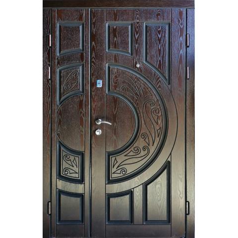Двері вхыдны з полімерними накладками №05013