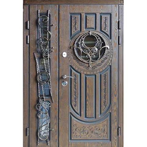 Двері вхідні з полімерними накладками №05016