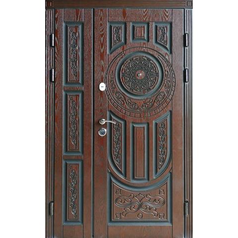 Двері вхідні з полімерними накладками №05023
