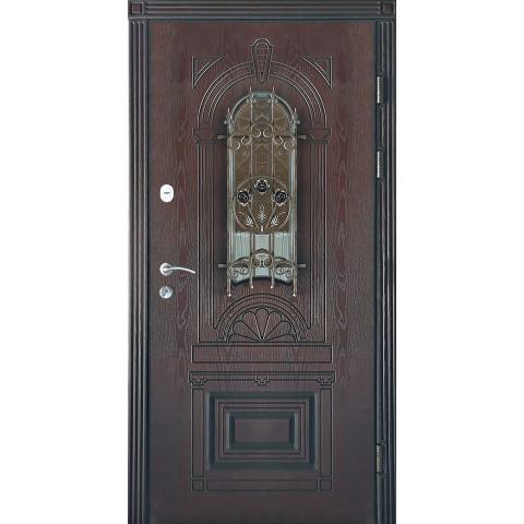 Двері вхідні з полімерними накладками №05031