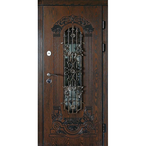 Двері вхідні з полімерними накладками №05035