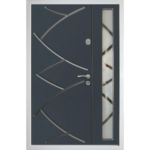 Двері вхідні в будинок OPTIMUM GRAND №42001 1200x2050