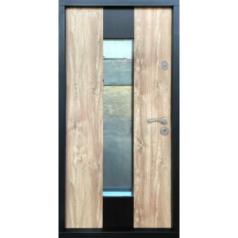 Двері вхідні в будинок LUX PLUS №50004 960x2050мм